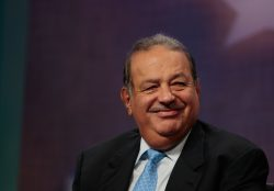 Carlos Slim Net Worth US$64.3 billion