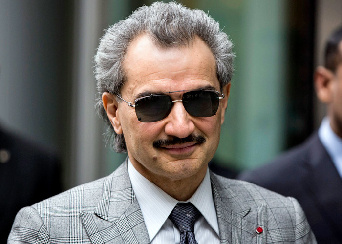 Prince Alwaleed Bin Talal Alsaud Net Worth $19 billion