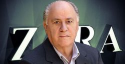 Amancio Ortega Net Worth $78.7 billion