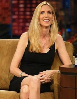 Ann Hart Coulter Net Worth $7.4 million.