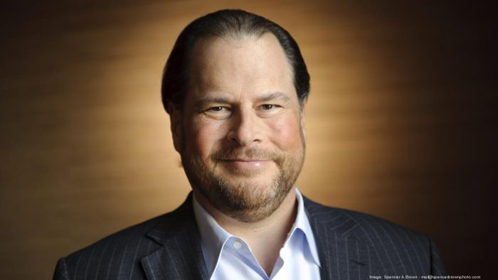 Marc Benioff Net Worth $3.2 billion