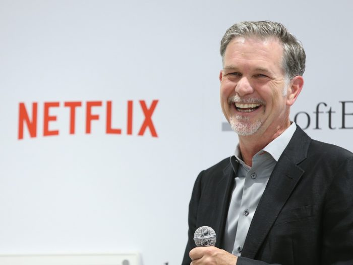 Reed Hastings Net Worth $1.4 billion
