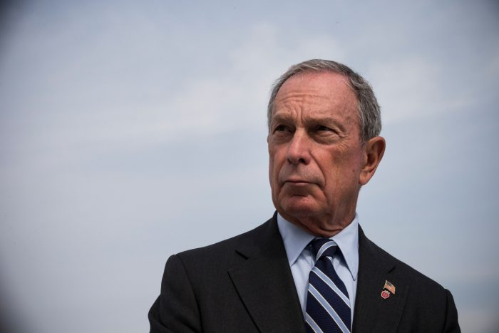 Michael Bloomberg net worth $54 billion