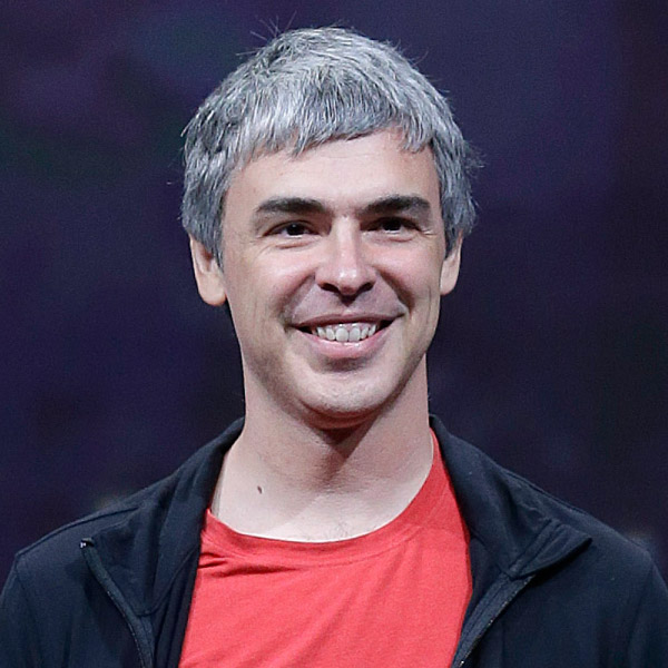 Larry Page Net Worth $40 billion