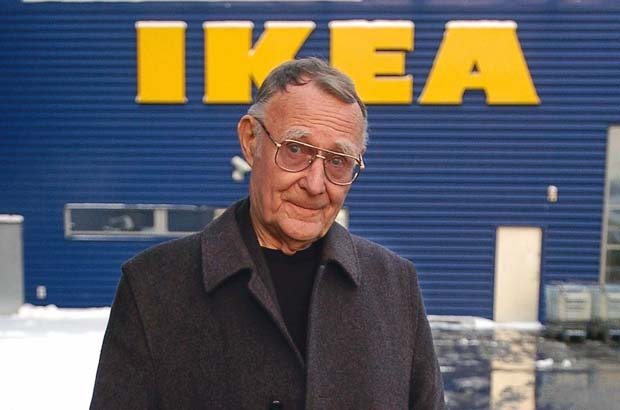 Ingvar Kamprad Net Worth $46.8 billion