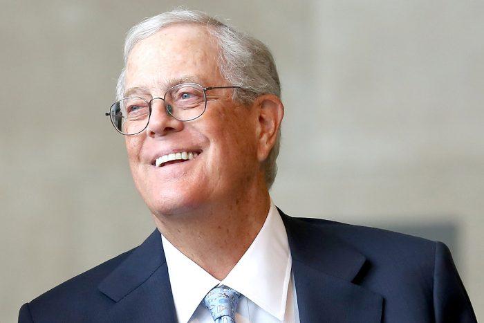 David Koch Net Worth $47.5 billion