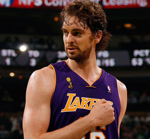 Pau Gasol Net Worth $65 million