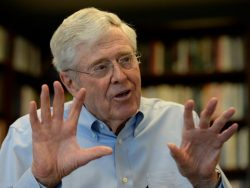 Charles Koch Net Worth $48.7 billion
