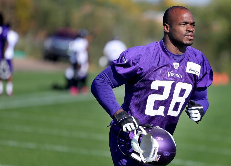Adrian Peterson Net Worth $30 Million